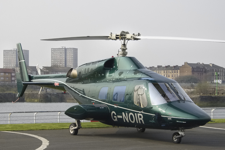 Private G-NOIR aircraft at Glasgow - Heliport