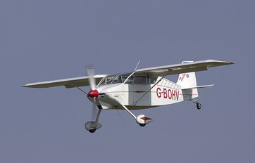 G-BOHV - Private Whittman  W8 Tailwind