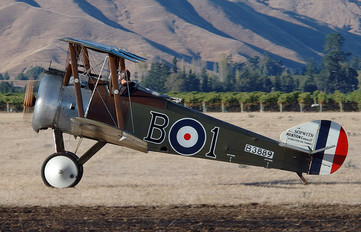 ZK-JMU - Private Sopwith Camel