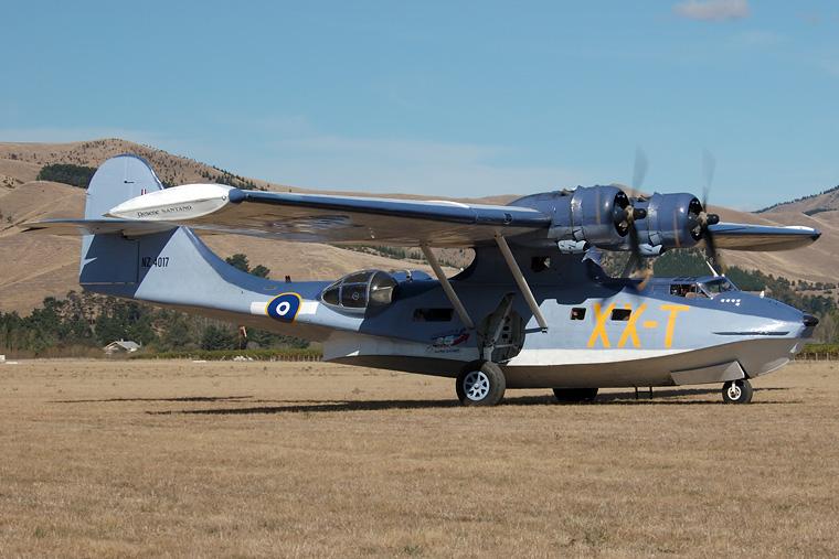 Private ZK-PBY aircraft at Omaka