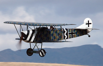 ZK-FOD - The Vintage Aviator Limited Fokker D.VII (replica)