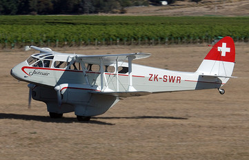 ZK-SWR - Swissair de Havilland DH. 89 Dragon Rapide