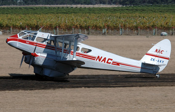 ZK-AKY - NAC (New Zealand National Airways Corporation) de Havilland DH. 89 Dragon Rapide