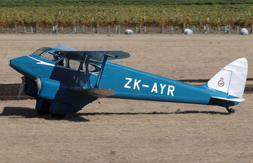 ZK-AYR - Private de Havilland DH. 90 Dragonfly
