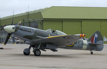 G-BUOS - Historic Flying Supermarine Spitfire FR.XVIIIe