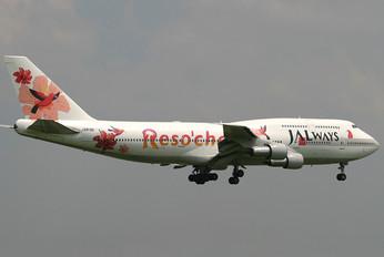 JA8186 - JALways Boeing 747-300