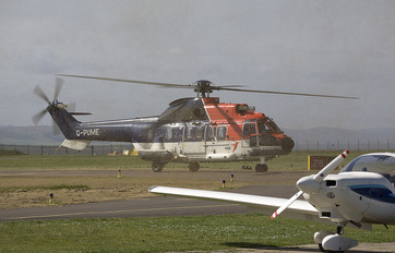 G-PUME - CHC Scotia Aerospatiale AS332 Super Puma L (and later models)