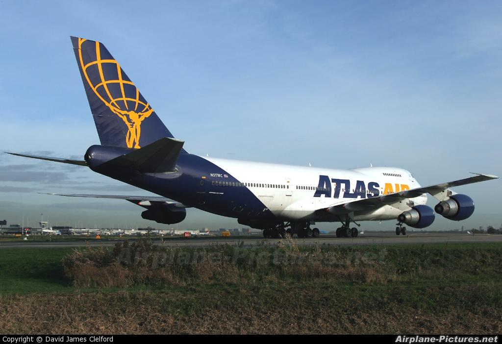 Atlas Air N517MC aircraft at Amsterdam - Schiphol