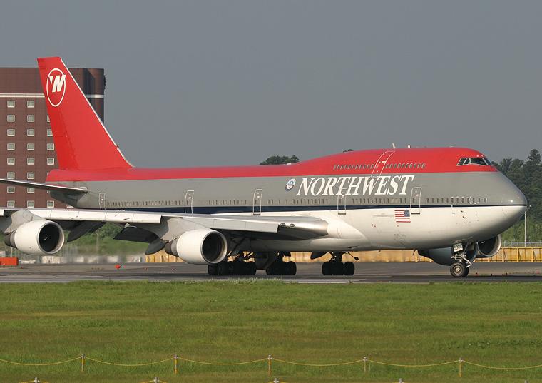 Northwest Airlines N666US aircraft at Tokyo - Narita Intl