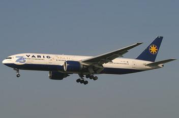 PP-VRB - VARIG Boeing 777-200