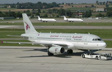 A7-CJA - Qatar Airways Airbus A319