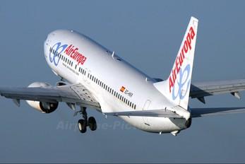 EC-HKR - Air Europa Boeing 737-800