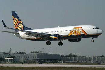 N322TZ - American Trans Air Boeing 737-800