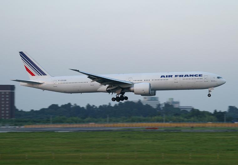 Air France F-GSQB aircraft at Tokyo - Narita Intl