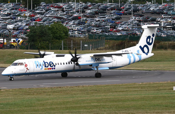 G-JECL - Flybe de Havilland Canada DHC-8-400Q / Bombardier Q400