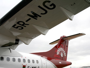 5R-MJG - Air Madagascar ATR 42 (all models)