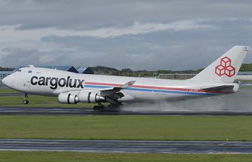 LX-ICV - Cargolux Boeing 747-400F, ERF