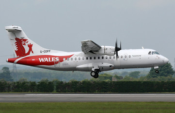 G-CDFF - Aurigny Air Services ATR 42 (all models)