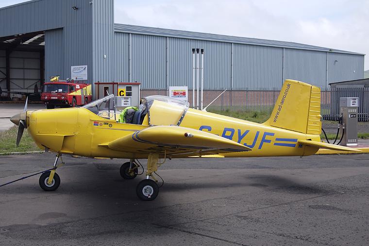 AD Aviation G-BYJF aircraft at Perth - Scone