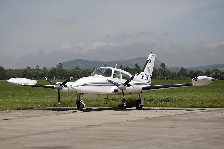 ACS Aviation G-BWYE aircraft at Perth - Scone