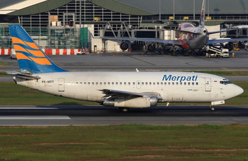 PK-MBX - Merpati Nusantara Airlines Boeing 737-200