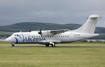 SP-KCN - Whoosh (White Eagle Aviation) ATR 42 (all models)