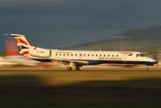 G-EMBO - British Airways Embraer ERJ-145 aircraft