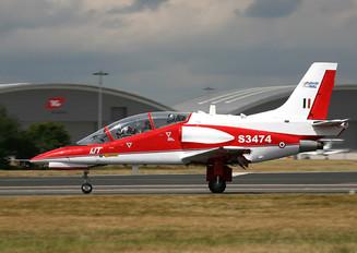 S3474 - India - Air Force Hindustan HJT-36 Sitara