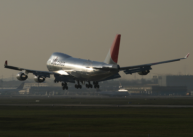 JAL - Cargo JA402J aircraft at Frankfurt