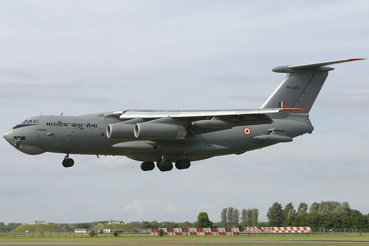India - Air Force RK-3452 aircraft at Fairford