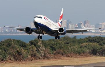 ZS-OKC - British Airways - Comair Boeing 737-300