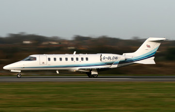 G-OLDW - Air Partners Private Jets Learjet 45