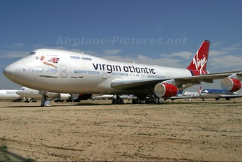 G-VIBE - Virgin Atlantic Boeing 747-200