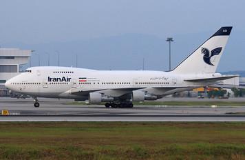 EP-IAD - Iran Air Boeing 747SP