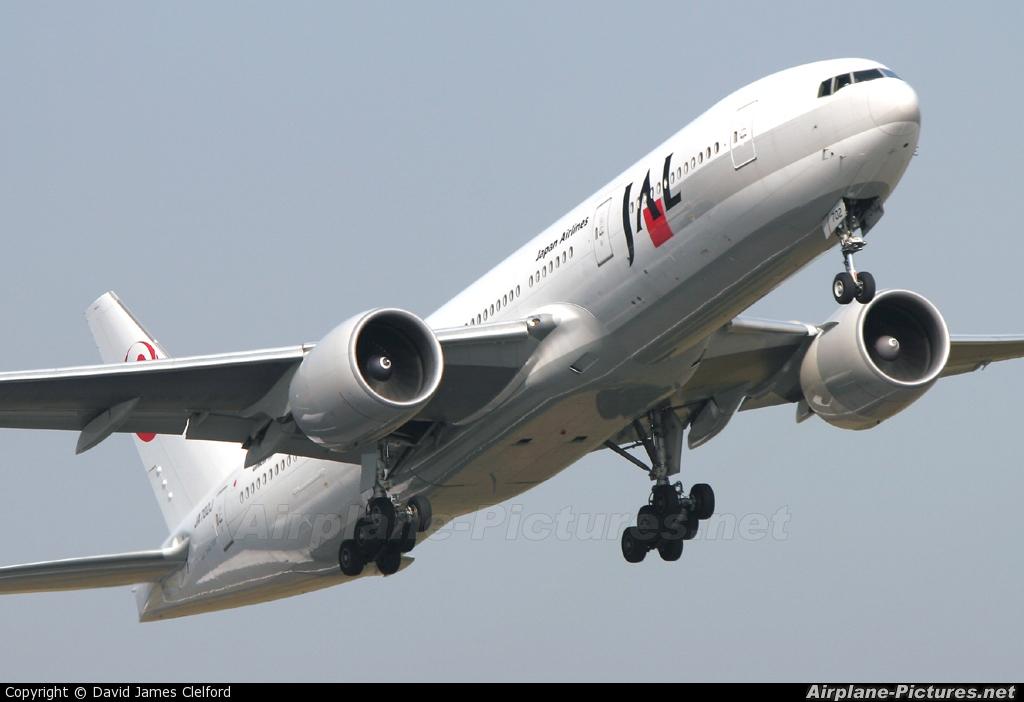 JAL - Japan Airlines JA702J aircraft at Tokyo - Narita Intl
