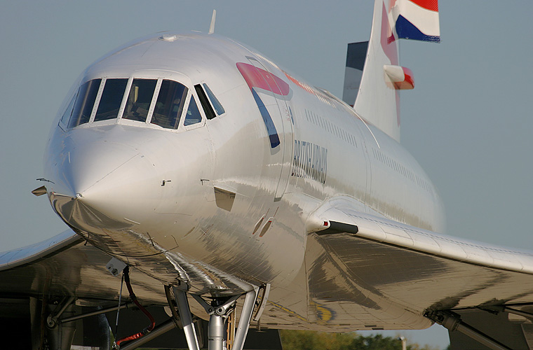 British Airways G-BOAG aircraft at London - Heathrow
