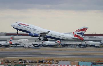 G-BNLB - British Airways Boeing 747-400