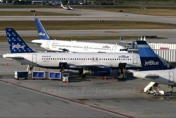 N566JB - JetBlue Airways Airbus A320
