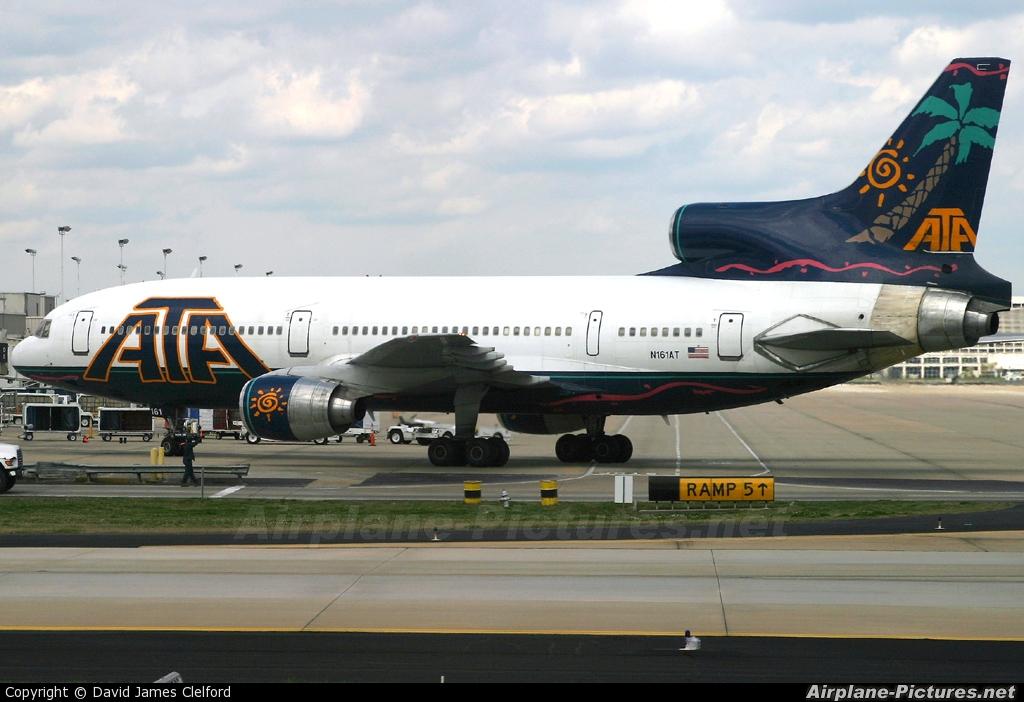American Trans Air N161AT aircraft at Atlanta - Hartsfield-Jackson Intl