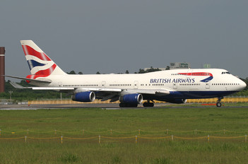 G-BNLA - British Airways Boeing 747-400