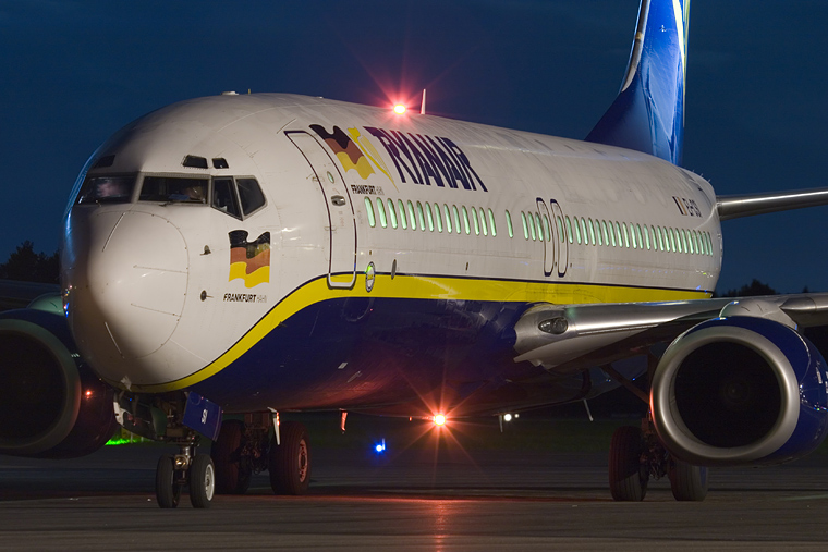 Ryanair EI-CSI aircraft at Göteborg City - Säve
