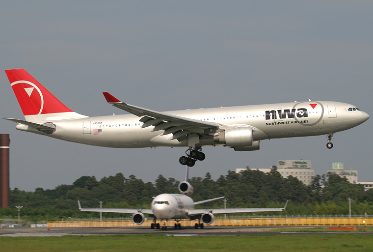 Northwest Airlines N857NW aircraft at Tokyo - Narita Intl
