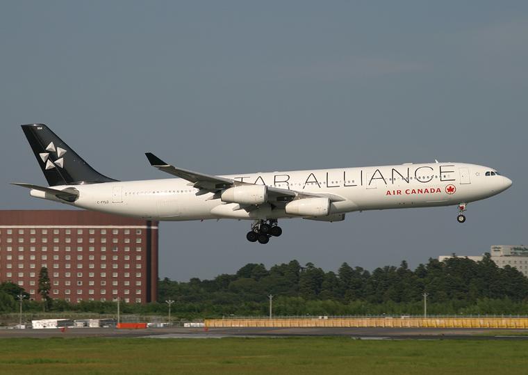 Air Canada C-FYLD aircraft at Tokyo - Narita Intl