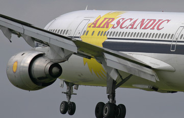 - - Air Scandic Airbus A300