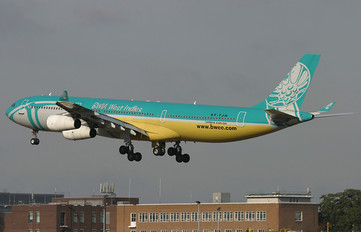 9Y-TJN - British West Indian Airlines Airbus A340-300