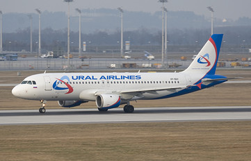 VP-BQY - Ural Airlines Airbus A320