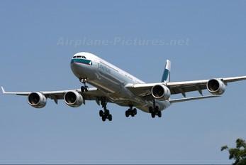 B-HQC - Cathay Pacific Airbus A340-600