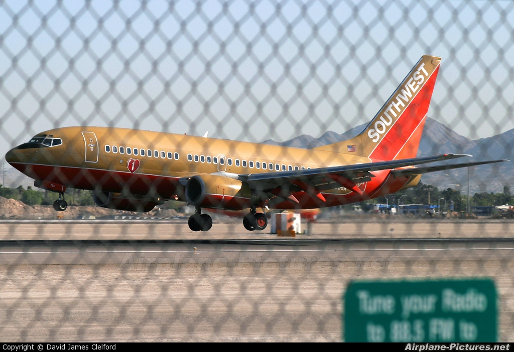 Southwest Airlines N750SA aircraft at Las Vegas - McCarran Intl