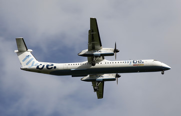 G-JEDL - Flybe de Havilland Canada DHC-8-400Q / Bombardier Q400
