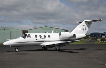 G-CITJ - Centreline Air Charter Cessna 525 CitationJet